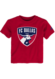 FC Dallas Toddler Red Squad Primary Short Sleeve T-Shirt
