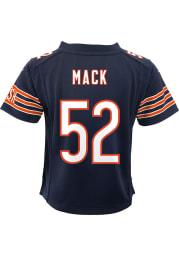 Khalil Mack Chicago Bears Toddler Navy Blue Nike Gameday Football Jersey