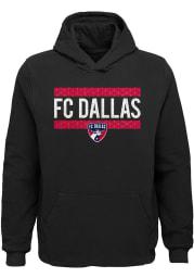 FC Dallas Youth Black Evolve Long Sleeve Hoodie