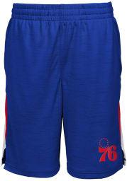 Philadelphia 76ers Youth Blue Content Shorts