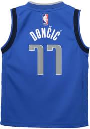 Luka Doncic Outer Stuff Dallas Mavericks Boys Blue Icon Basketball Jersey