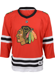 Chicago Blackhawks Youth Red 2019 Home Hockey Jersey