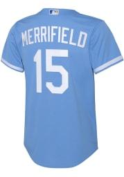 Whit Merrifield Nike Kansas City Royals Youth Light Blue 2020 Home Jersey