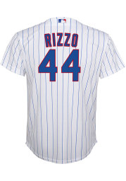 Anthony Rizzo Chicago Cubs Boys White 2020 Home Baseball Jersey