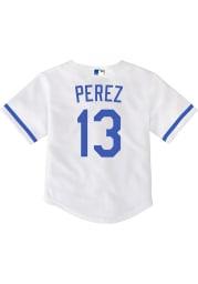 Salvador Perez Kansas City Royals Baby White 2020 Home Jersey Baseball Jersey