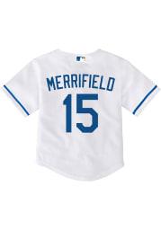 Whit Merrifield Kansas City Royals Baby White 2020 Home Jersey Baseball Jersey