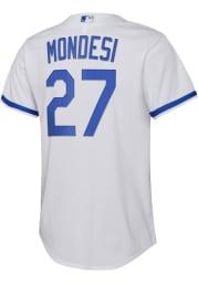 Adalberto Mondesi Nike Kansas City Royals Youth White 2020 Home Jersey