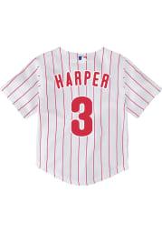 Bryce Harper Philadelphia Phillies Baby White 2020 Home Jersey Baseball Jersey