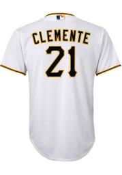 Roberto Clemente Pittsburgh Pirates Boys White 2020 Home Baseball Jersey