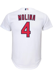 Yadier Molina Nike St Louis Cardinals Youth White 2020 Home Jersey