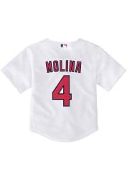 Yadier Molina St Louis Cardinals Toddler Replica Jersey - White