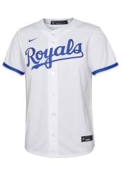 Nike Kansas City Royals Youth White 2020 Home Jersey
