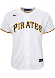 Nike Pittsburgh Pirates Youth White 2020 Home Jersey