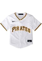 Nike Pittsburgh Pirates Baby White 2020 Home Jersey Baseball Jersey