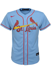 Nike St Louis Cardinals Youth Light Blue 2020 Alternate Jersey