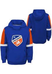FC Cincinnati Youth Blue Goalkeeper Long Sleeve Hoodie