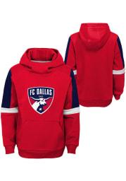 FC Dallas Youth Red Goalkeeper Long Sleeve Hoodie