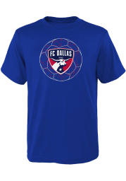 FC Dallas Youth Blue Quartz Short Sleeve T-Shirt