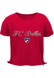 FC Dallas Girls Love Short Sleeve Fashion T-Shirt