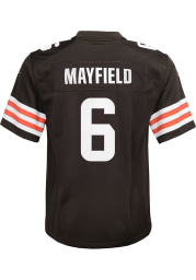 Baker Mayfield Cleveland Browns Youth Brown Nike 2020 Home Football Jersey