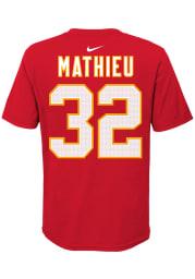 Tyrann Mathieu Kansas City Chiefs Youth Red Player Pride NN Player Tee