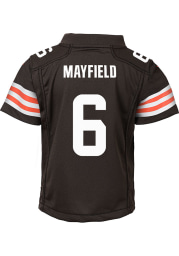 Baker Mayfield Cleveland Browns Boys Brown Nike 2020 Home Football Jersey
