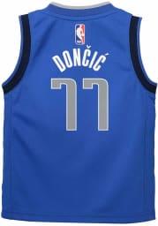 Luka Doncic Dallas Mavericks Toddler Replica Jersey - Blue
