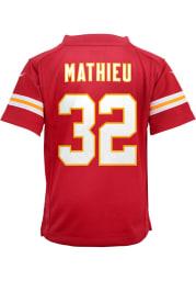 Tyrann Mathieu Kansas City Chiefs Boys Red Nike Gameday Football Jersey