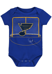 St Louis Blues Baby Blue Dasher Short Sleeve One Piece