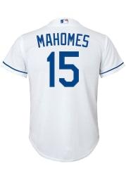 Patrick Mahomes Nike Kansas City Royals Youth White Home Jersey