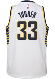Nike Indiana Pacers Youth Association White Basketball Jersey