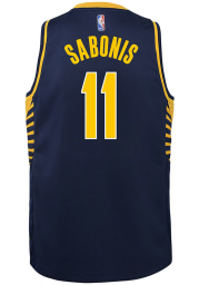 Domantas Sabonis Nike Indiana Pacers Youth Icon Navy Blue Basketball Jersey