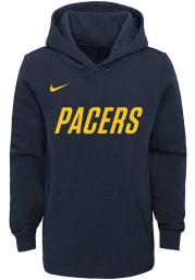 Nike Indiana Pacers Youth Navy Blue Essential Long Sleeve Hoodie