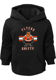 Gritty Outer Stuff Philadelphia Flyers Youth Black Gritty Life Long Sleeve Hoodie