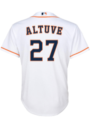Jose Altuve Nike Houston Astros Youth White Home Twill Jersey
