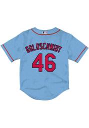 Paul Goldschmidt St Louis Cardinals Baby Light Blue Alternate 3 Jersey Baseball Jersey