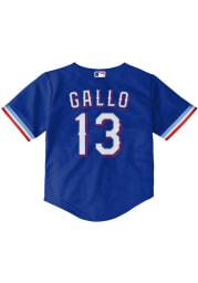 Joey Gallo Texas Rangers Toddler Blue Alternate 1 Jersey