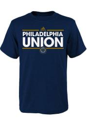 Philadelphia Union Toddler Navy Blue Dassler Short Sleeve T-Shirt