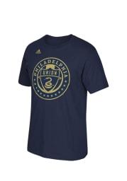 Philadelphia Union Toddler Navy Blue Rising Short Sleeve T-Shirt