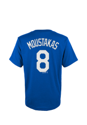 Mike Moustakas Kansas City Royals Youth Blue Player Tee Player Tee