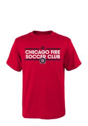 Chicago Fire Youth Red Dassler Short Sleeve T-Shirt