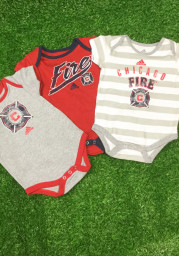 Chicago Fire Baby Red Hat Trick One Piece