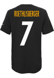 Ben Roethlisberger Pittsburgh Steelers Toddler name and number Short Sleeve Player T Shirt
