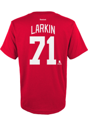 Dylan Larkin Detroit Red Wings Youth Red Player Player Tee