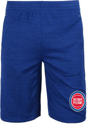 Detroit Pistons Youth Blue Free Throw Shorts