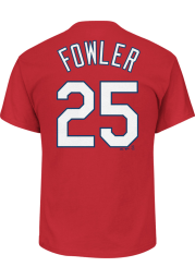 Dexter Fowler St Louis Cardinals Youth Red Player Player Tee