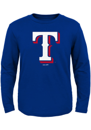 Texas Rangers Toddler Blue Secondary Long Sleeve T-Shirt
