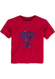 FC Dallas Toddler Red War Paint Short Sleeve T-Shirt
