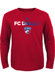 FC Dallas Youth Red Striker Long Sleeve T-Shirt