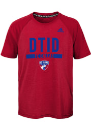 FC Dallas Youth Red Recovery Short Sleeve T-Shirt